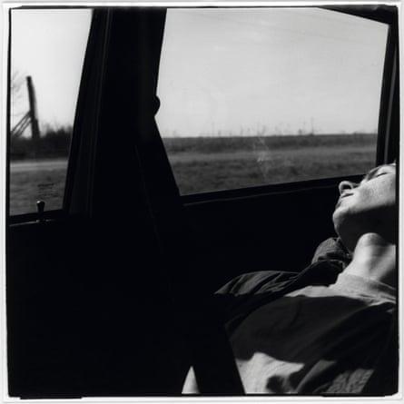 'My little brother' … River Phoenix asleep, 1993.