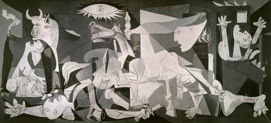 'Guernica is not a conventional history painting ... but a Cubist apocalypse painted by the most revolutionary of modern artists'