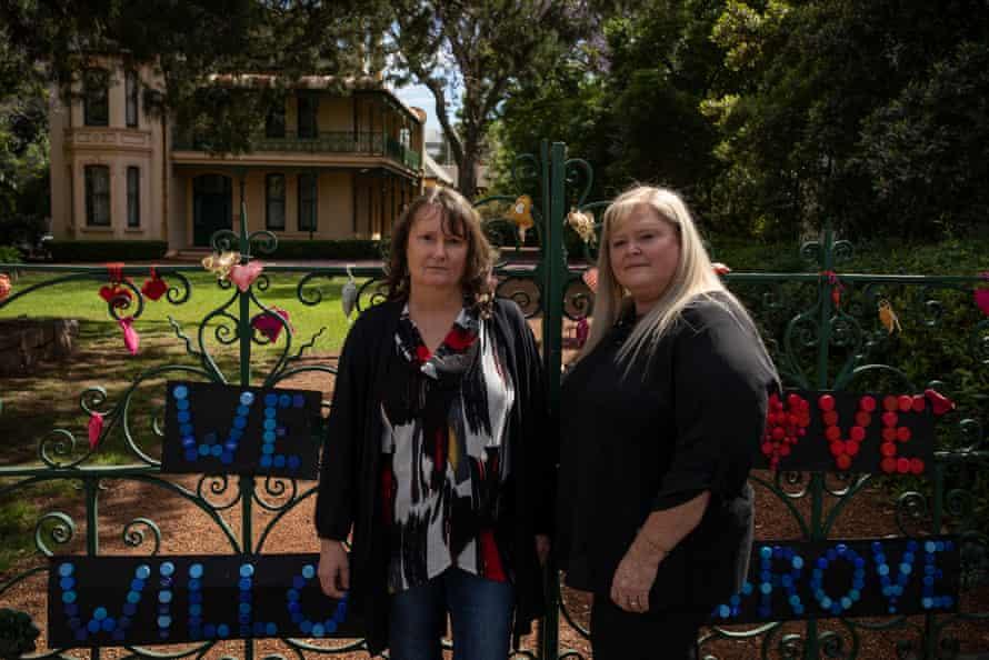 Dharung custodians Michelle Locke and Julie Jones