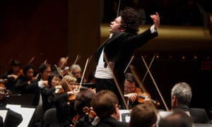 Outstanding performances ... Gustavo Dudamel and the Los Angeles Philharmonic Orchestra.