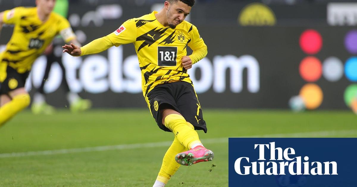 Jadon Sancho remains sidelined as former side Man City visit Dortmund