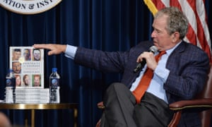 George Bush discussing his new book.