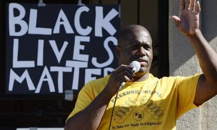 Reverend Floyd Harris Jr, an activist in Fresno, says that police have a 'double standard' when it comes to how they treat white protesters versus black protesters.