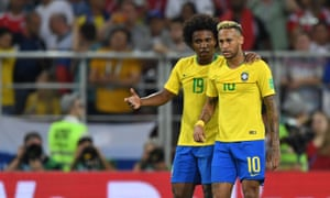 Tite has brought Willian into the squad to replace Neymar.