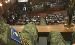 Serbia talks up armed intervention as Kosovo approves new
