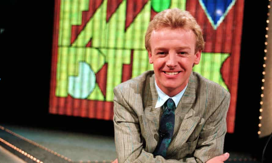 Les Dennis on Family Fortunes in 1987
