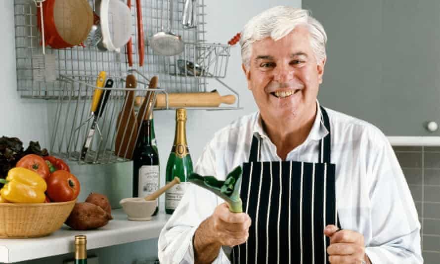 'In later years, they say, he lightened his recipes': the late Robert Carrier.