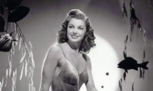 Actor Esther Williams in 1944
