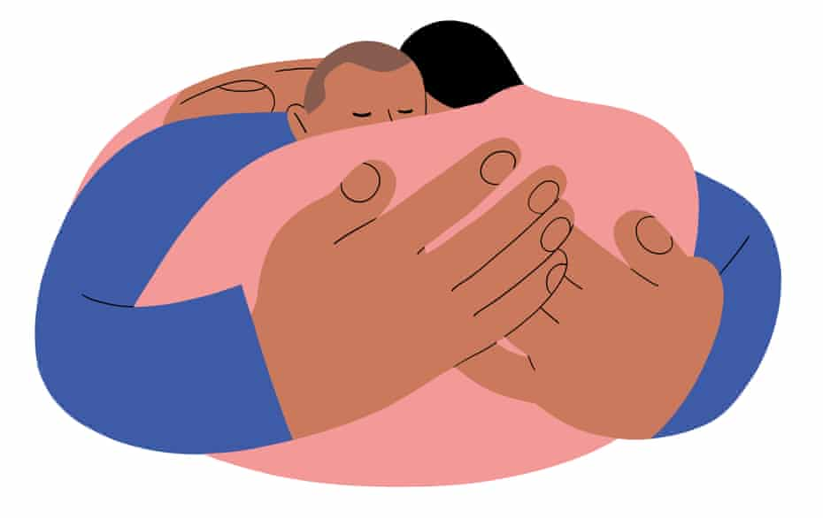 'Touch is how we become part of this human community.'