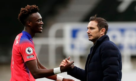 Frank Lampard welcomes consistency as Chelsea go top with win at Newcastle – video