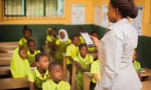 A Bridge International Academy in Uganda