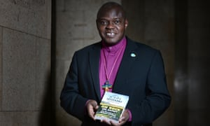 Dr John Sentamu launching his book, On Rock or Sand?, in which he discusses topics including the living wage.
