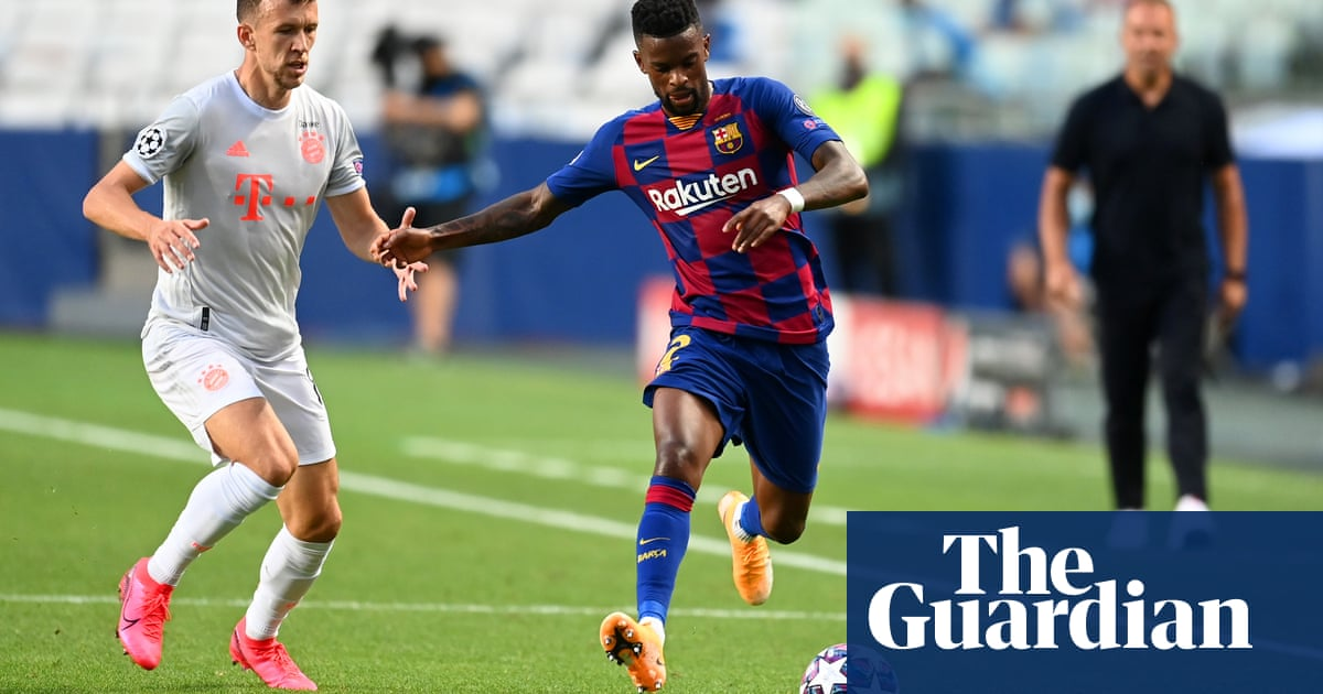 Wolves close to signing Barcelonas Nélson Semedo after £34.8m bid