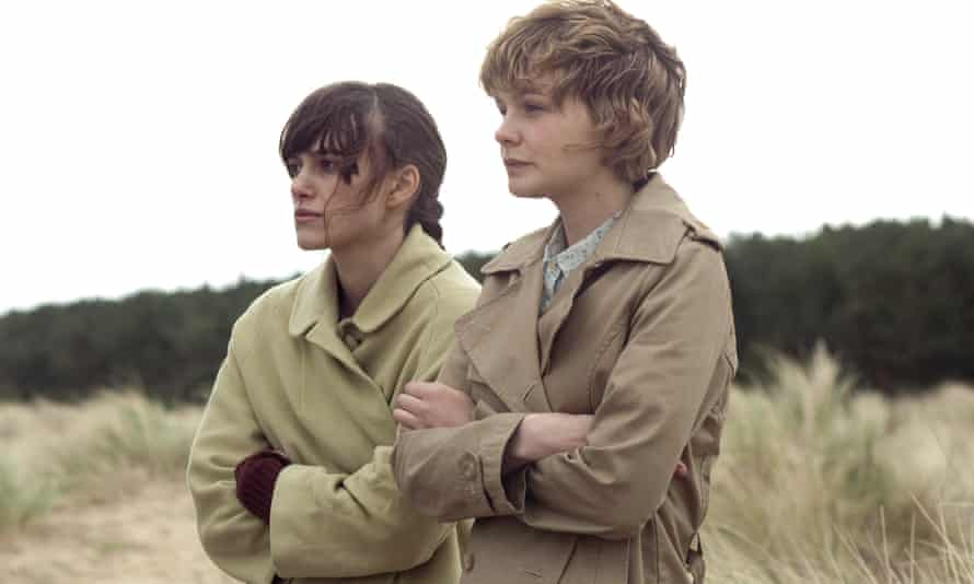 Keira Knightley, left, and Carey Mulligan in the 2010 film adaptation of Never Let Me Go.