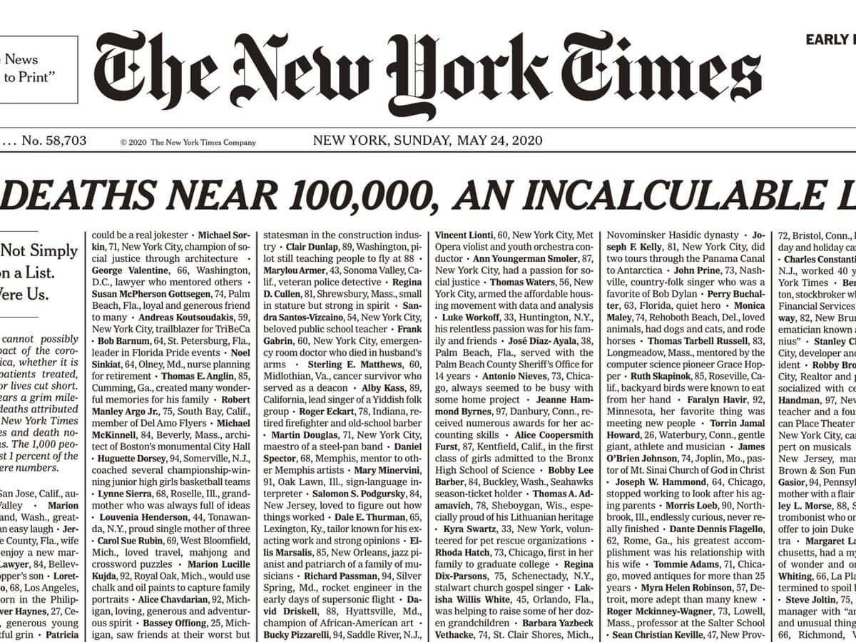 有名な Ny Times Cover Today - 青梅