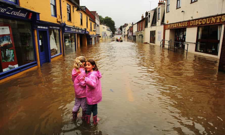 Last winter's floods cost insurers £1.3bn.