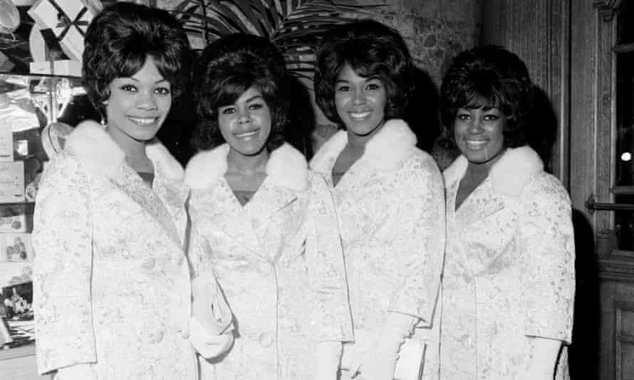 The Shirelles (l-r): Shirley Owens, Beverly Lee, Doris Kenner and Addie 'Micki' Harris.
