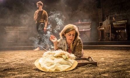 Nancy Crane as Alma's mother in Summer and Smoke, designed by Tom Scutt.