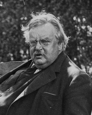 GK Chesterton.