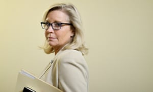 Liz Cheney at the US Capitol.