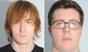 Thomas Wyllie (left) and Alex Bolland who were jailed at Leeds crown court.