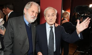 David Puttnam and Harry Evans
