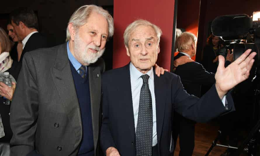 David Puttnam and Harry Evans