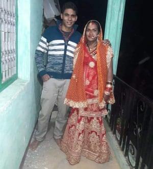 Naresh Kumar and his wife Kavita