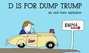 The cover of D is for Dump Trump