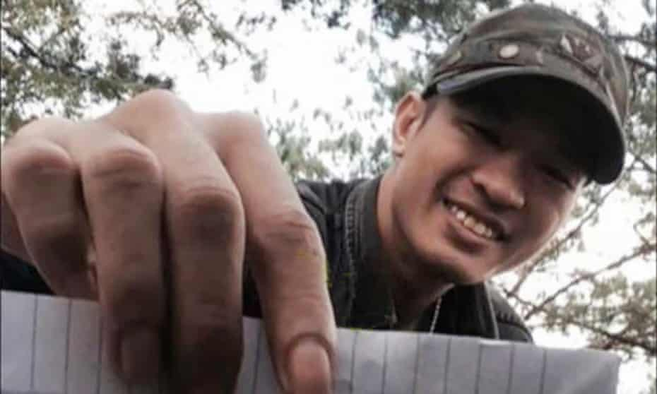 Nguyen Quoc Duc Vuong has been arrested for allegedly criticising the Vietnamese government.