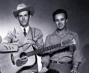 Hank Williams and Don Helms (R)
