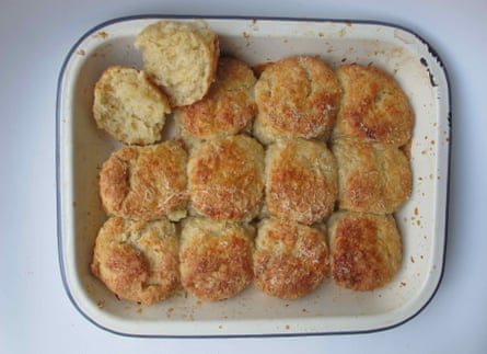 Cheese scones by Scorch-O-Rama cafe.