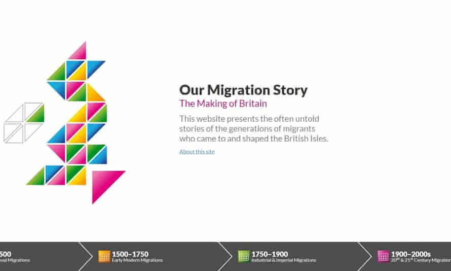 Manchester's Our Migration Story has had more than 112,000 users since its launch.
