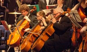 North Devon Sinfonia, finalist in BBC's Great Orchestra Challenge