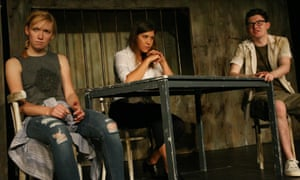 Allan and Cameron with Nicole Cooper as the lawyer.