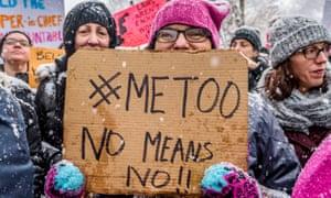 A rally, New Yorkin December 2017.
