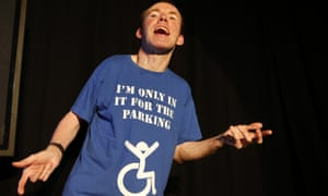 Lost Voice Guy (Lee Ridley) on the Edinburgh fringe, 2018