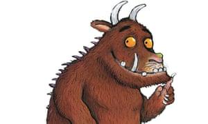 Startling new thinking … the Gruffalo