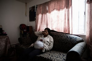 Jasmine Ball at her mother's home in Bayview-Hunters Point.