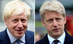 Boris Johnson and his brother Jo Johnson