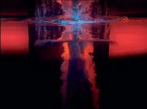 Bill Viola: panel 3 from Five Angels for the Millennium (2001)