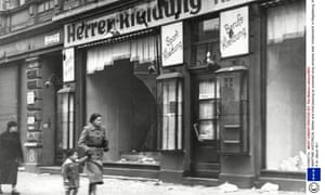 The morning after Kristallnacht in Magdeburg, November 1938.