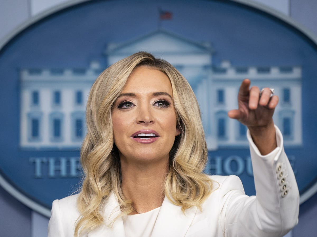 Kayleigh McEnany – the 'acceptable' face of Trumpism who infuriates  liberals | Donald Trump | The Guardian