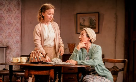 Rosie Abraham and Angela Bain give compelling performances in Deborah McAndrew's play Dirty Laundry.