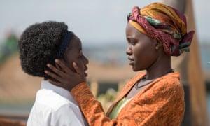The rookie: Madina Nalwanga and Lupita Nyong'o in Queen Of Katwe.