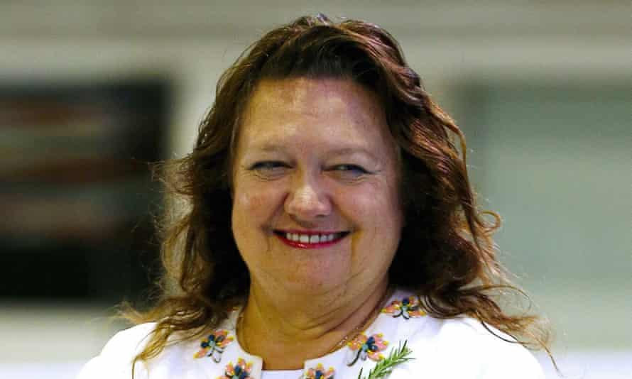 Chairman of Hancock Prospecting group Gina Rinehart