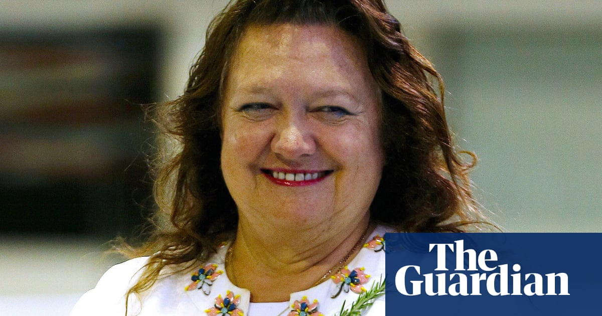 Australia's biggest landholder is Gina Rinehart, controlling 9.2m hectares