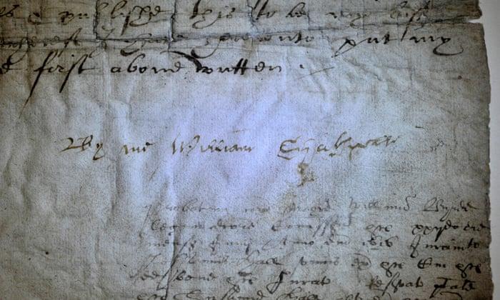Shakespeare's Signatures?