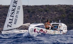 Jasmine Harrison on her record-breaking journey from La Gomera to Antigua.