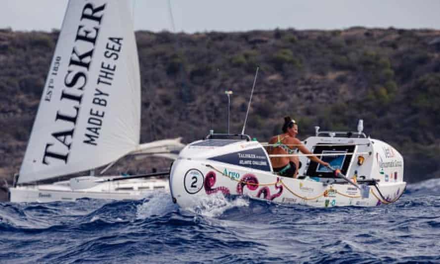 Jasmine Harrison on her record-breaking journey from La Gomera to Antigua.